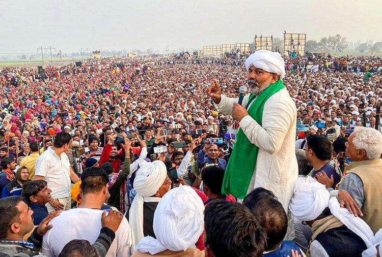 Photo of शांतिपूर्ण प्रदर्शन में उत्पात मचाने वाले होंगे दंडित- राकेश टिकैत