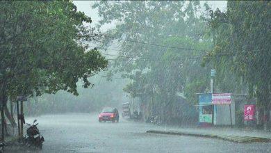 Photo of MP के विदिशा में भारी बारिश, घर बहा:सड़कों पर खड़ी गाड़ियां और कई घर डूबे,
