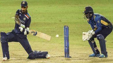 Photo of IND VS SL: भारत का पहला विकेट गिरा, क्रीज पर टिके पृथ्वी शॉ और संजू सैमसन