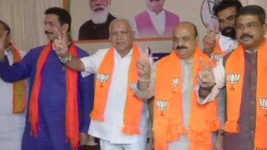 Photo of Karnataka:आज 11 बजे बसवराज बोम्मई लेंगे कर्नाटक के सीएम पद की शपथ, साथ बनेंगे 3 डिप्टी सीएम!