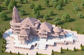 Photo of अयोध्या में ज्मभूमि से प्रेरणा लेकर बनाया बांस का राम मंदिर