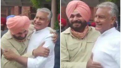 Photo of नवजोत सिंह सिद्धू ने पंचकूला में की सुनील जाखड़ से मुलाकात