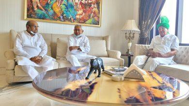Photo of ओमप्रकाश चौटाला से मुलाकात पर बोले नीतीश कुमार, वो हमारे पुराने साथी, इसमें BJP…
