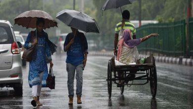 Photo of Delhi-NCR और हरियाणा में जारी रहेगी बारिश, MP-राजस्थान में भारी बारिश का रेड अलर्ट