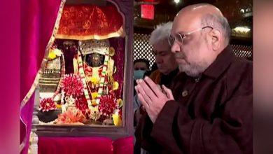 Photo of अमित शाह ने खीर भवानी दुर्गा मंदिर में की पूजा-अर्चना, श्रीनगर को आज देंगे कई योजनाओं की सौगात